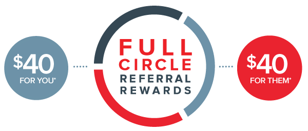 Full Circle Referral Rewards program: $40 for you, $40 for the friend you refer to Ehrlich Pest Control, formerly Connor's